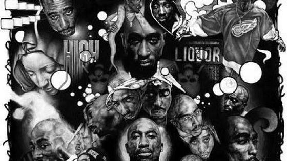 hip hop artists drawing