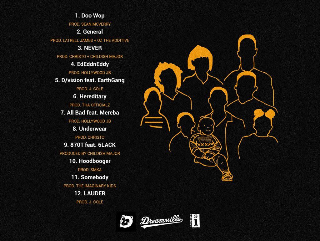 The Never Story - Full album tracklist on Dreamville.com