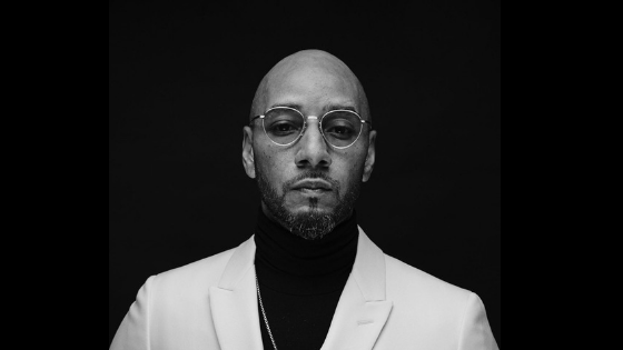 Swizz Beatz White Suit