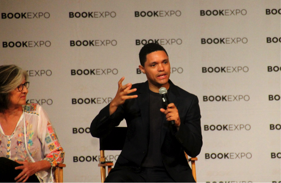 Trevor Noah at Book Expo