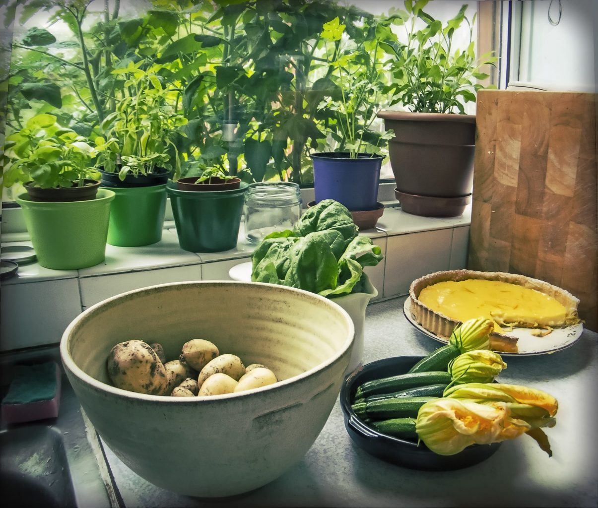home grown produce